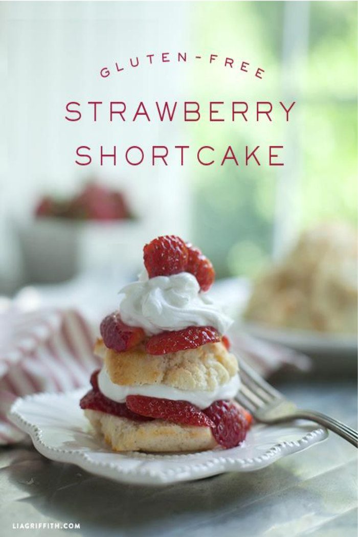 Gluten Free Strawberry Shortcakes by Lia Griffith