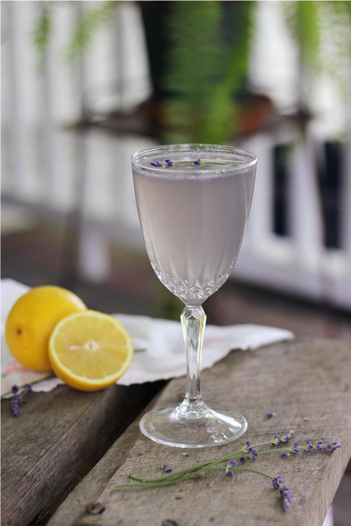 Lemon Lavender Mocktail by The Merrythought