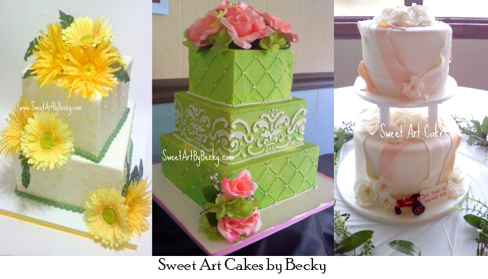 Sweet Art Cakes by Becky Paper Swallow Events