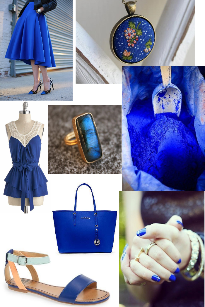 Cobalt Blue Inspiration Paper Swallow Events