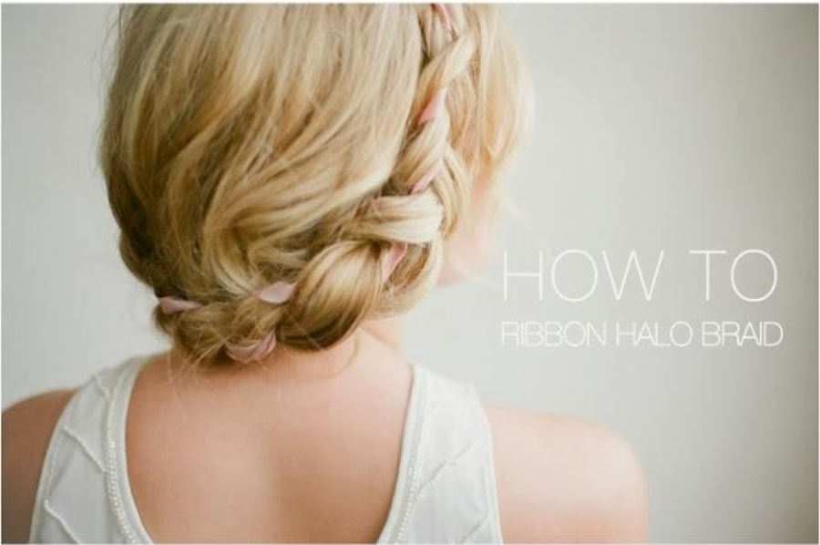 Ribbon Halo Braid Tutorial by Irrelephant