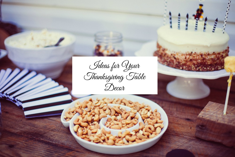 Ideas for Your Thanksgiving Table Decor - Paper Swallow Events