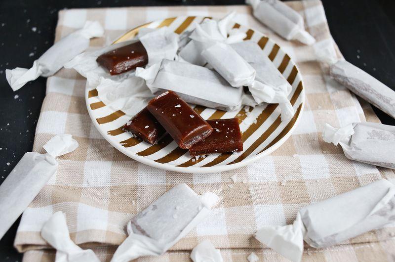Salted Caramel Taffy