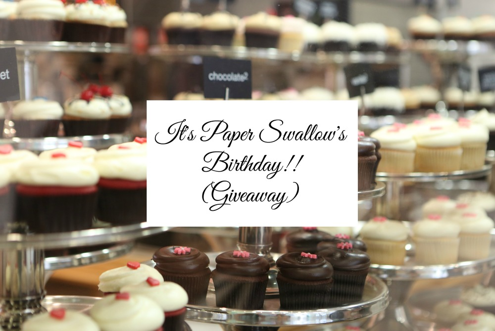 Paper Swallow's Birthday Giveaway - Paper Swallow Events