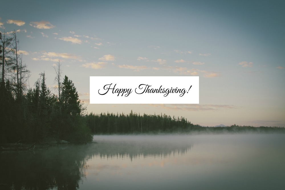 Happy Thanksgiving - Paper Swallow Events