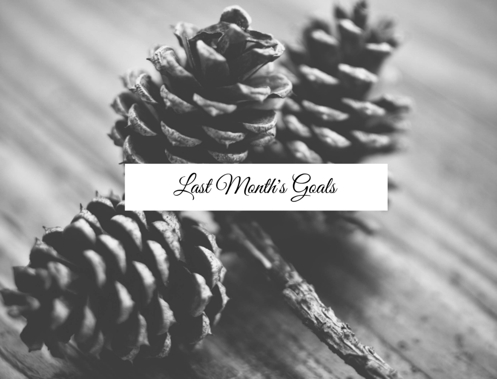 Monthly Goals: December - Paper Swallow Events