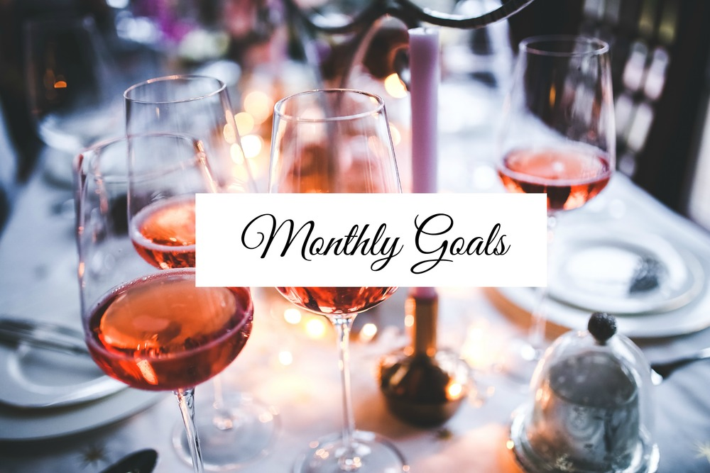Monthly Goals - Paper Swallow Events