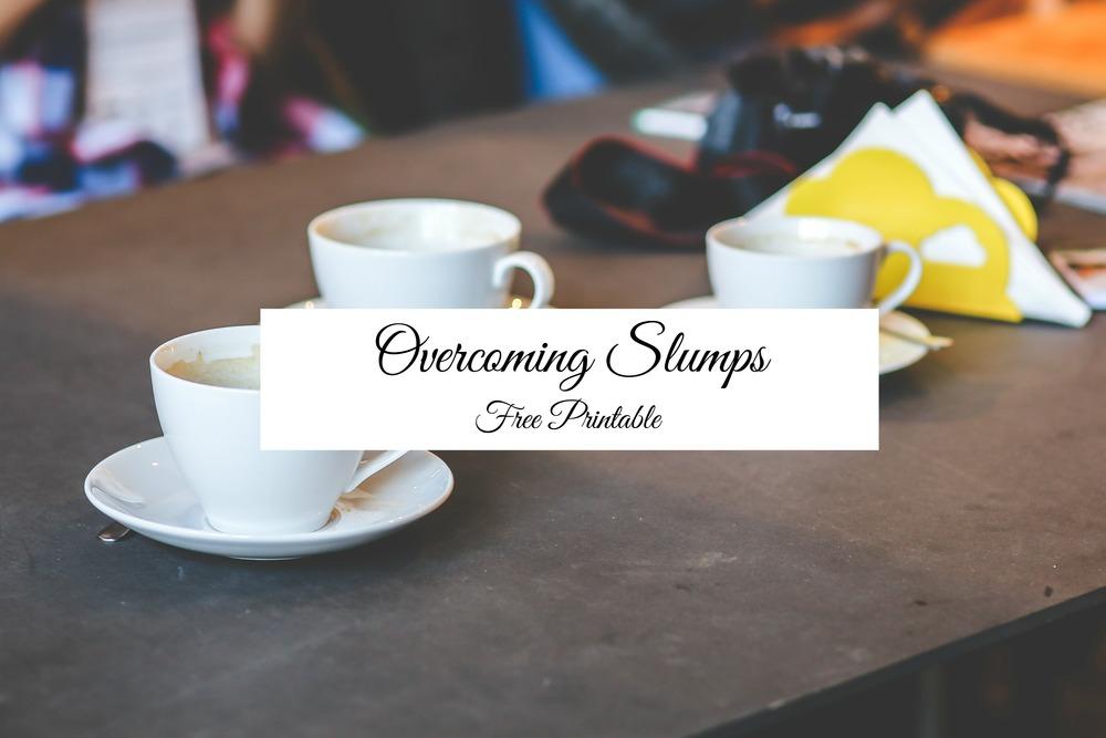 Overcoming Slumps - Paper Swallow Events