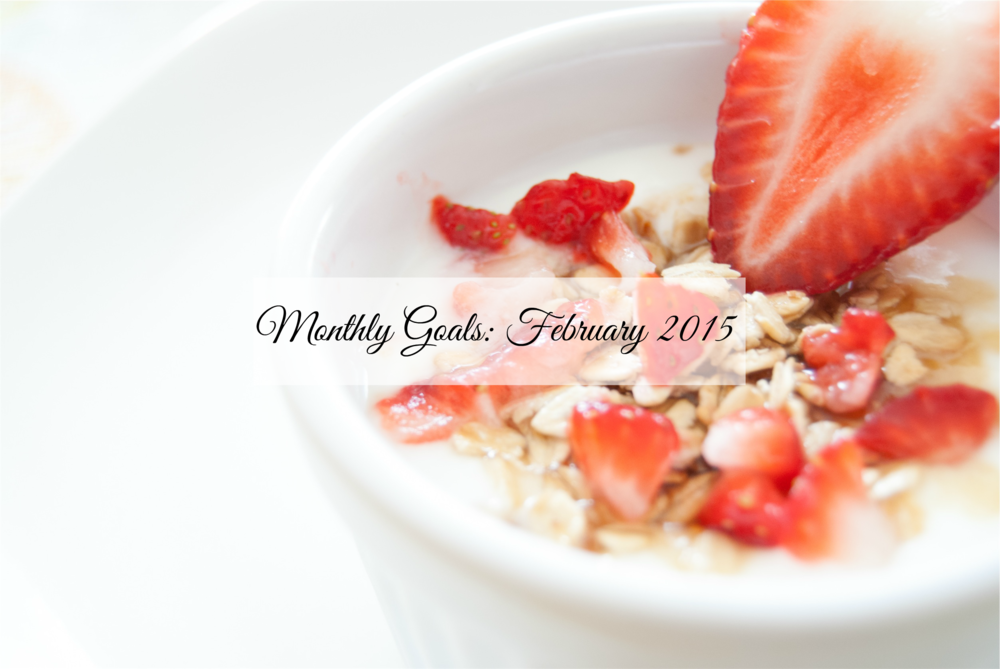 Monthly Goals: February 2015 - Paper Swallow Events
