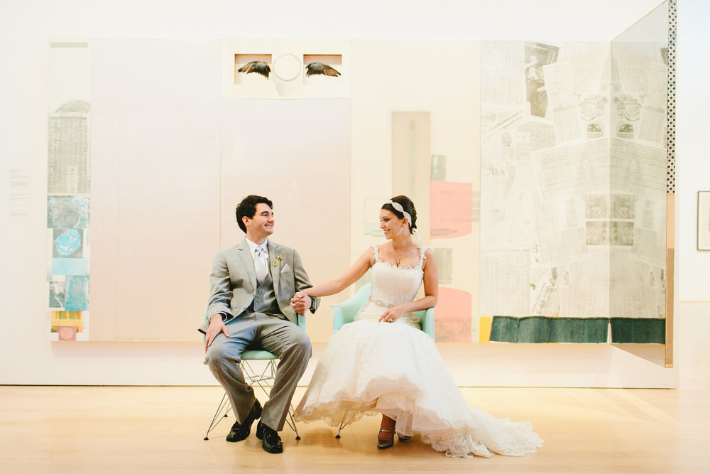 The Hunter Museum of Art is a museum located in Chattanooga, Tennessee. With a beautiful view over the water, it can also make a perfect modern wedding venue.