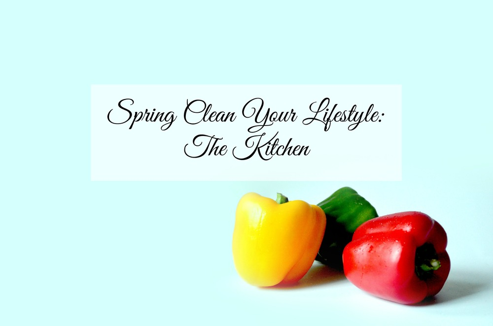Spring Clean Your Lifestyle: The Kitchen - Paper Swallow Events