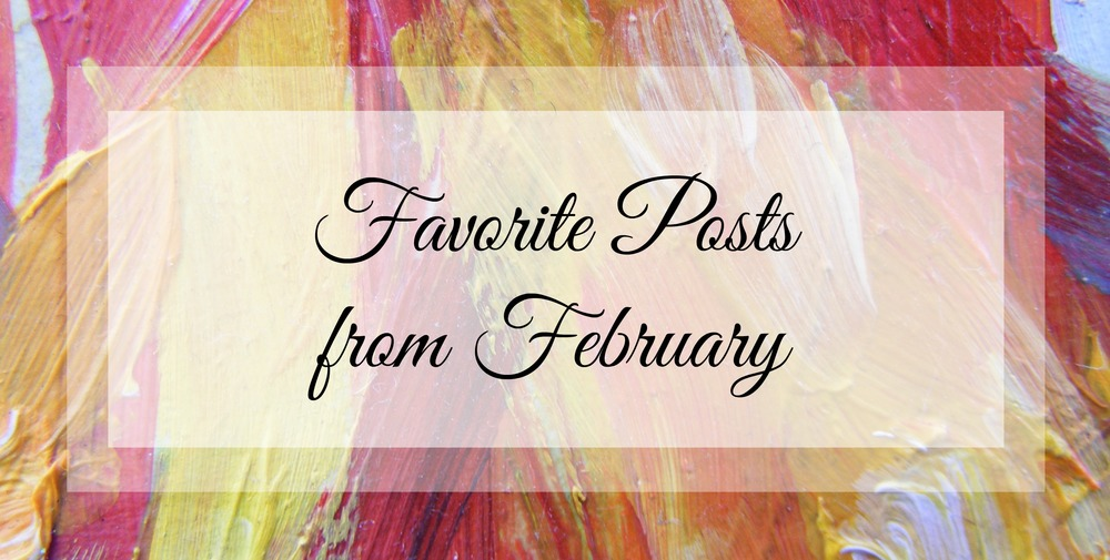 Favorite Posts from February - Paper Swallow Events