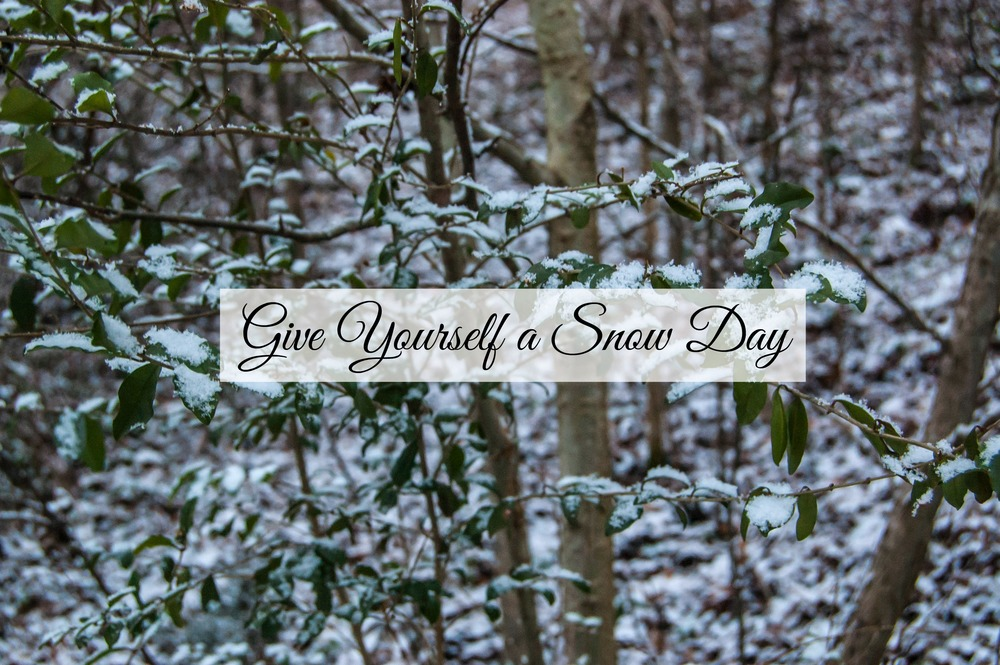 Give Yourself a Snow Day - Paper Swallow Events