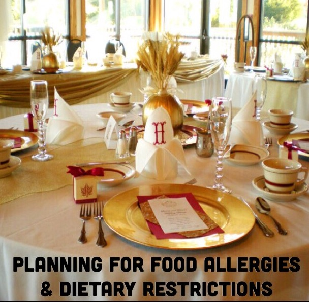Planning for Food Allergies or Dietary Restrictions - Paper Swallow Events