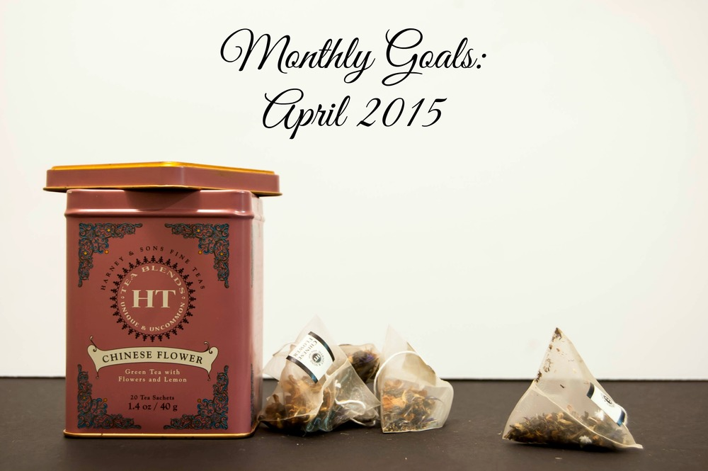 Monthly Goals: April 2015 - Paper Swallow Events