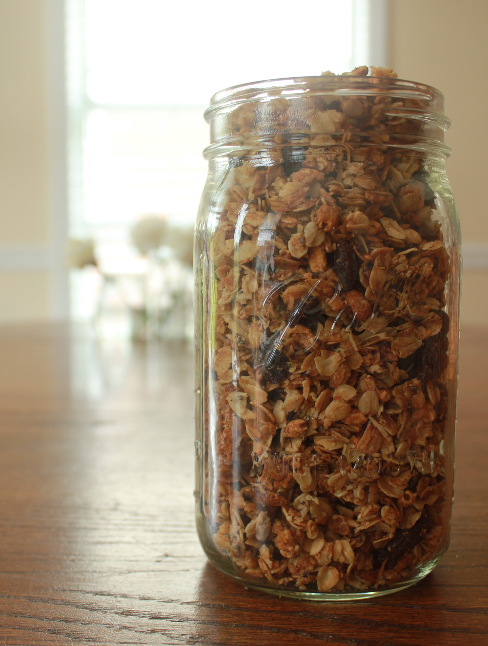 Busy Girl Granola for Clean Eating on the Go - Paper Swallow Events