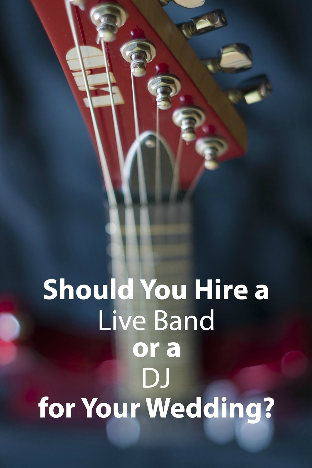 Should You Hire a Live Band or a DJ for Your Wedding? - Paper Swallow Events #wedding