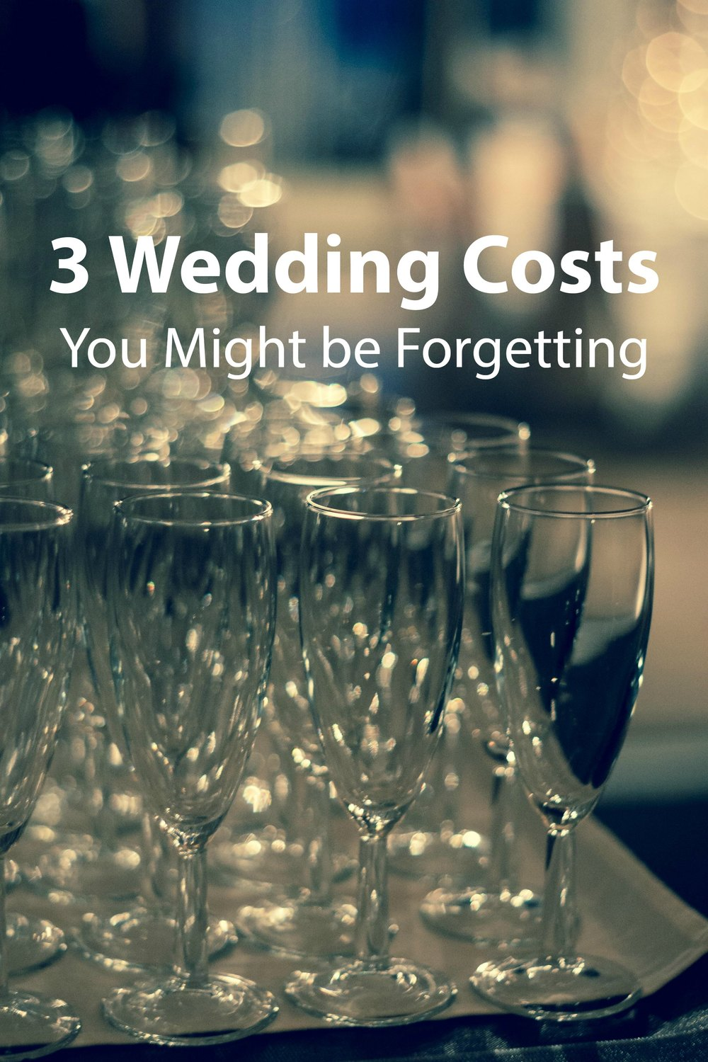3 Wedding Costs You Might be Forgetting - Paper Swallow Events #wedding #budget