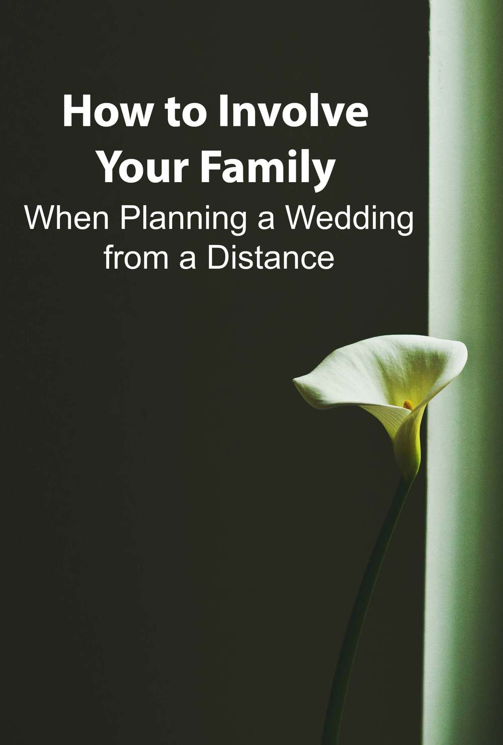 How to Involve Your Family When Planning a Wedding from a Distance - Paper Swallow Events #wedding #weddingplanning