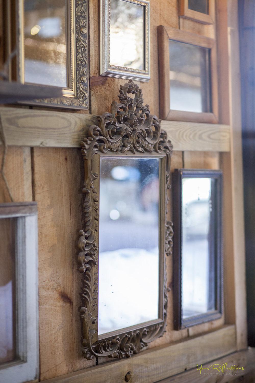 vintage framed mirror wall mural.jpg