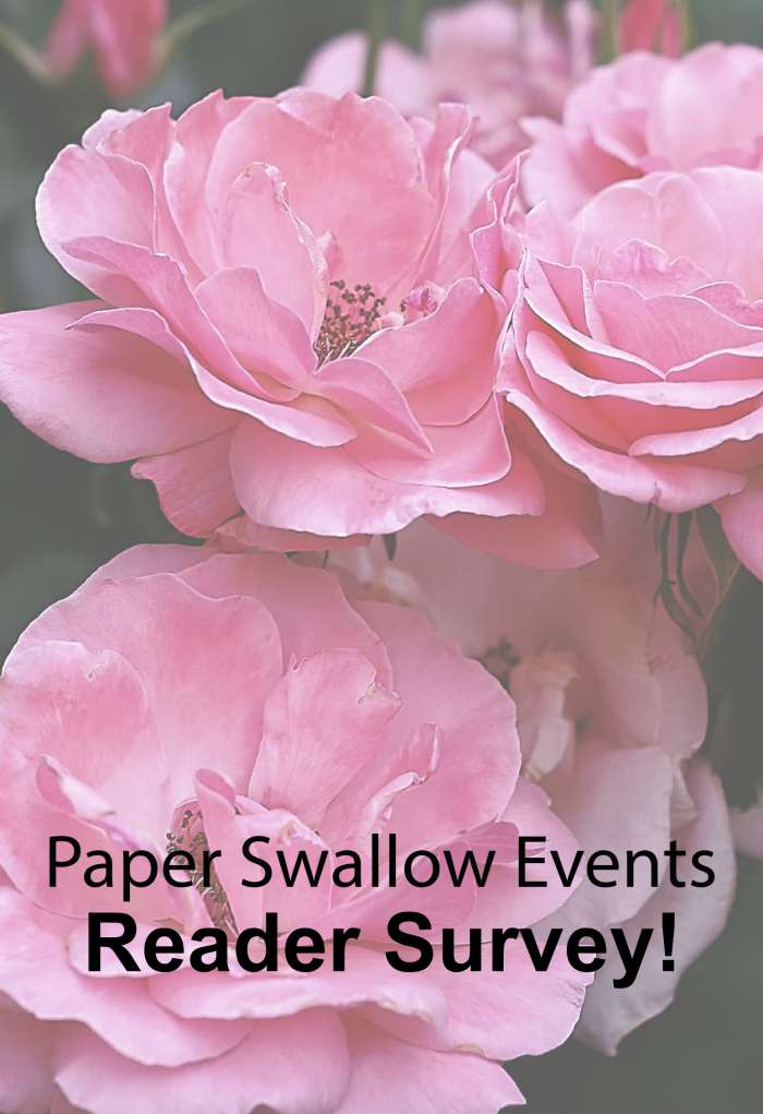 Want better wedding planning tips and advice? Fill out Paper Swallow Events' survey! @paperswalloweve