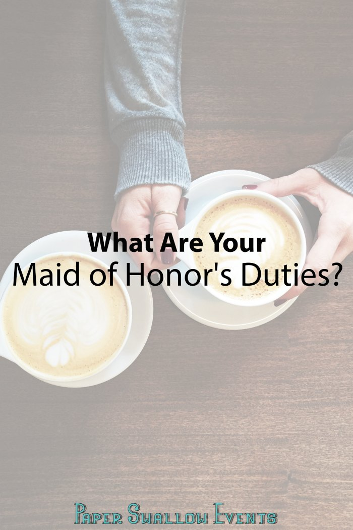 What can a bride expect from her right hand woman? Click through to read a list of the maid of honor's duties!