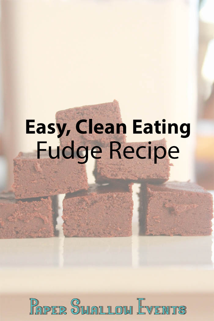 With the holidays approaching, it's great to sneak in a treat that you can indulge in without worrying about all of the calories. Here is an easy, clean eating fudge recipe to your rescue! Click through for the recipe and enjoy your holidays guilt free! @paperswalloweve