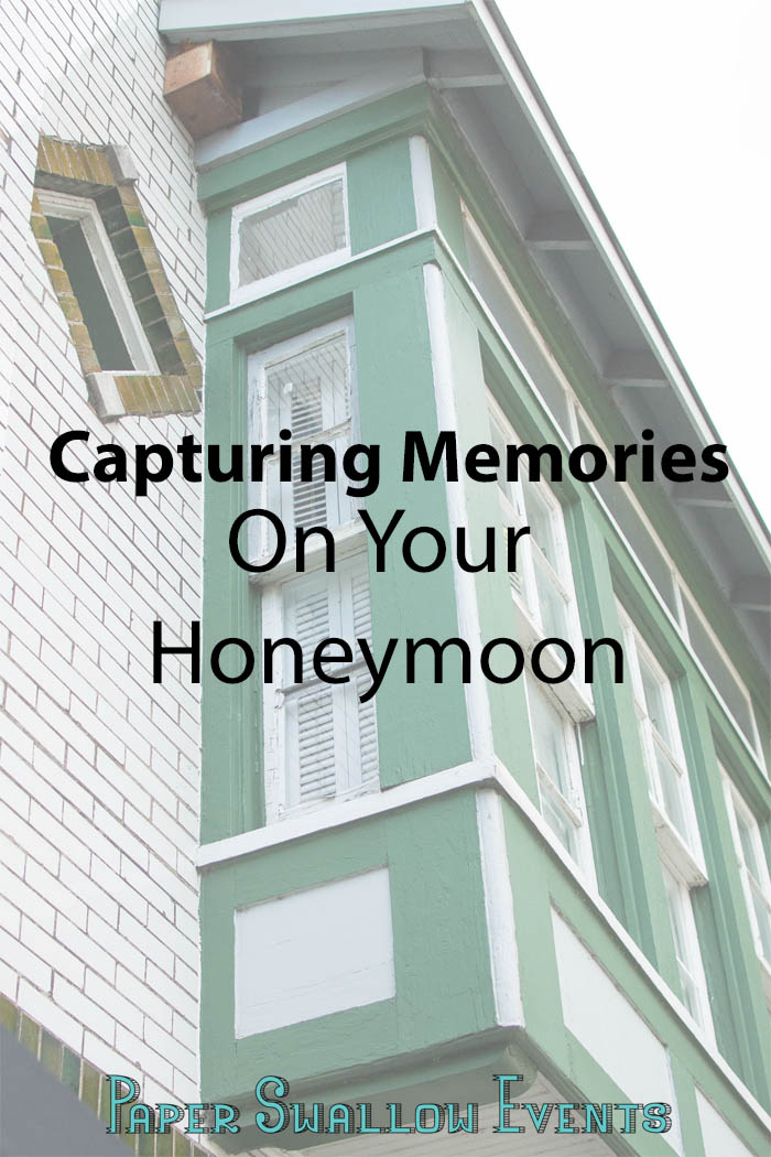Capturing memories while traveling can be hard. How much is too much? And what do you capture if you're an amateur photographer? Here are some fun tips for capturing memories on your honeymoon. @paperswalloweve