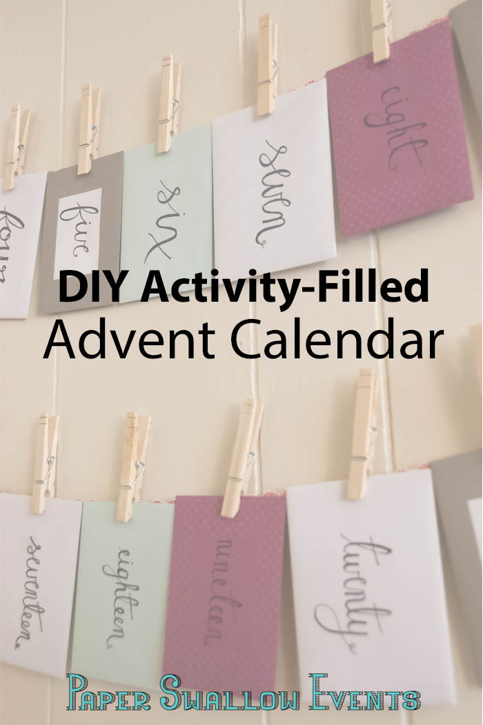 Celebrate this Christmas season with an advent calendar that is built upon making memories with the people you love. Spend time with your family and get into the Christmas spirit a little more each day. Click through to find out how!