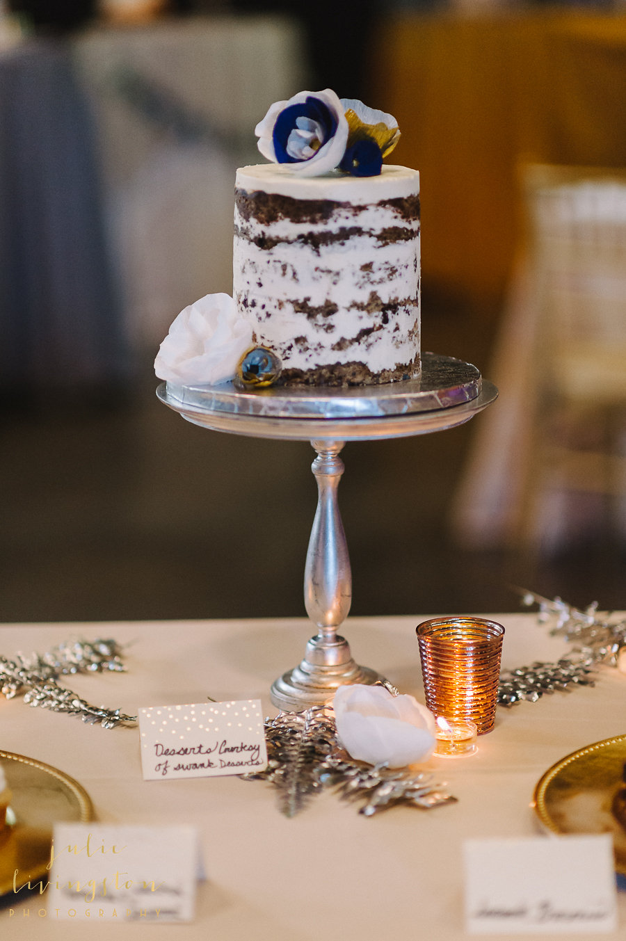 PHOTO BY JULIE LIVINGSTON PHOTOGRAPHY, DESSERTS BY SWANK DESSERTS