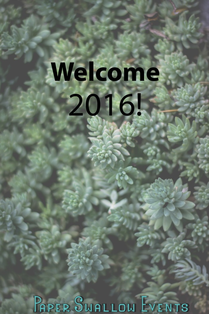 Welcome 2016! @paperswalloweve