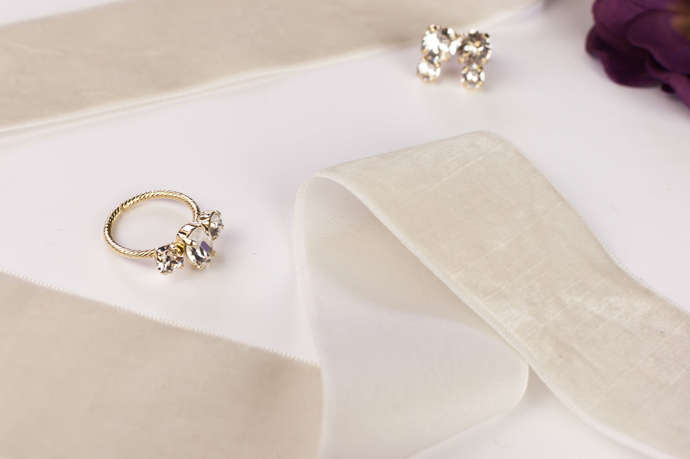 Sparkle La Vie Jewelry - because every bride deserves to sparkle on her wedding day.