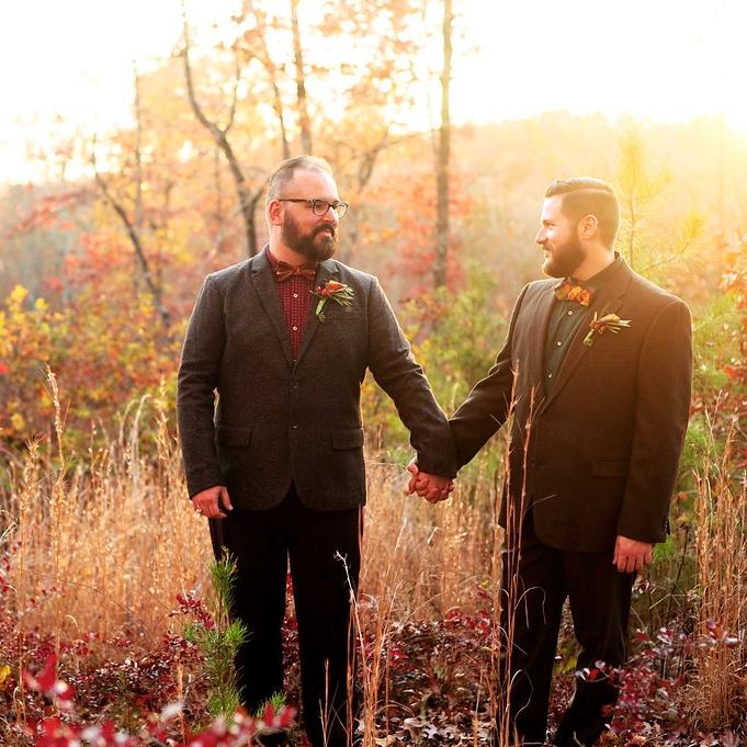 Justin + Dan, husbeards -