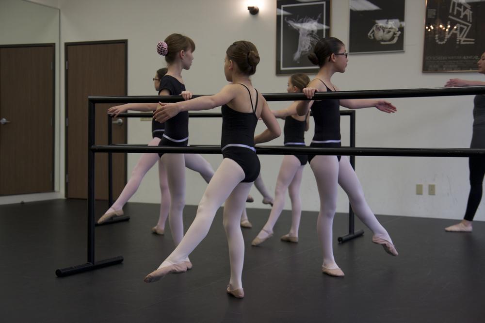 Ballet class at LAAC