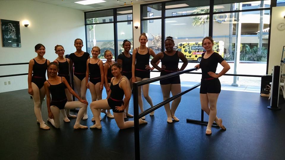 Our beautiful advanced ballet girls invite you to create some joy!