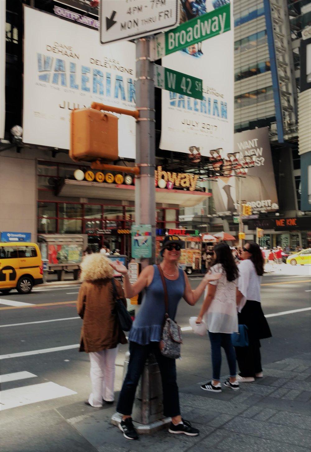Times Square pilgramage