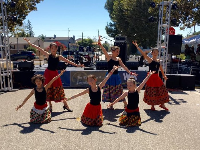 Our Bollywood Dancers performing at last year's Westchester Arts And Music Fesitval