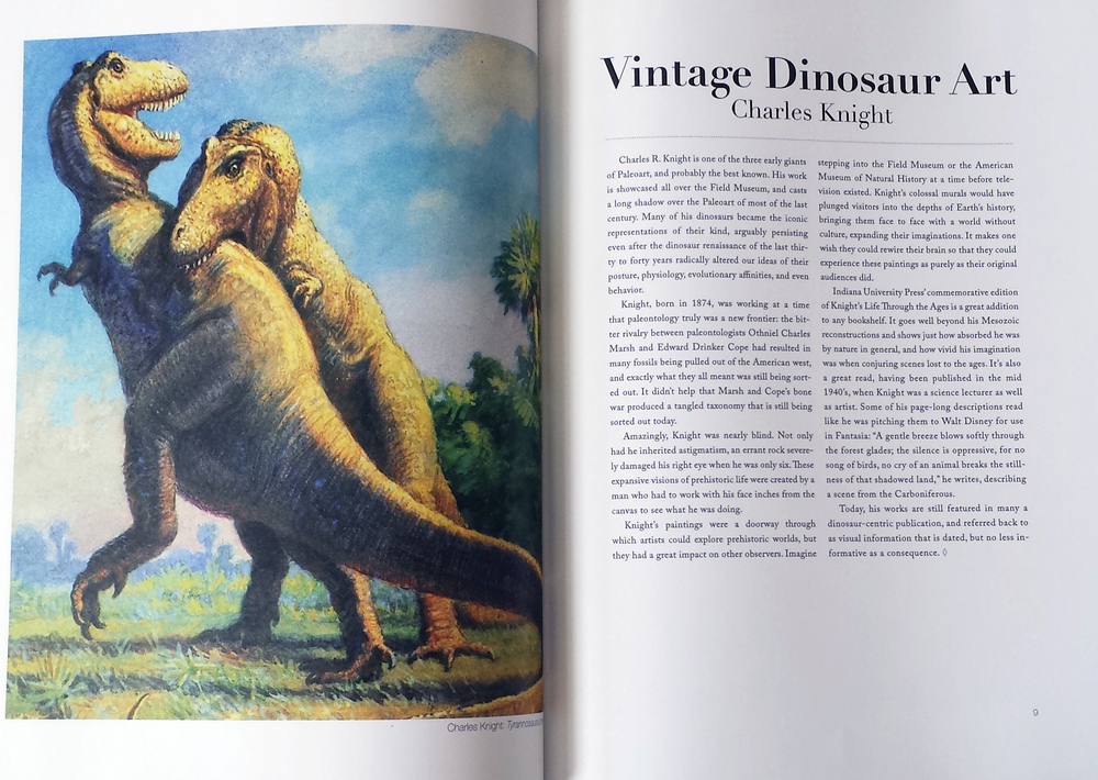 Paleoart of the Past and Present