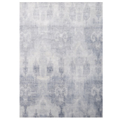 Bamboo Ikat Blue / The Rug Company
