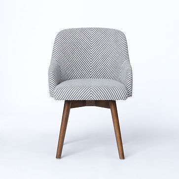 -Saddle Office Chair, via West Elm - could be great at a dining table, as well.
