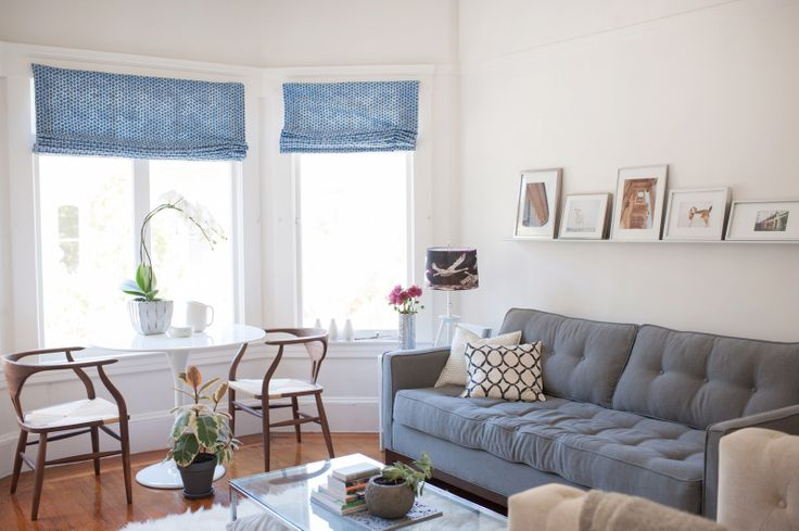 -via refinery29.com / the 500 sq. ft. San Francisco apartment of Theresa Gonzalez.