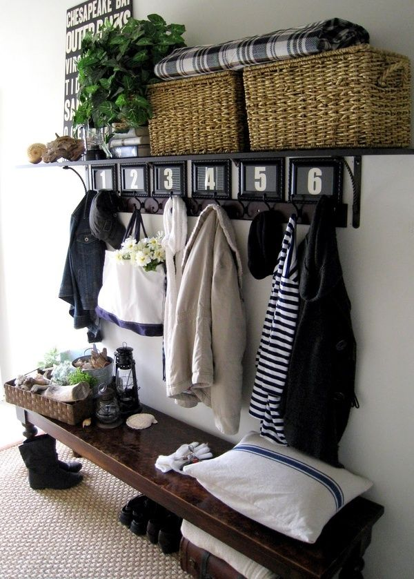 -via homeremediesrx.com / Look at how much they are able to store in this small space!  And it's not all function...they've left room for pretty accessories to tie it all in.