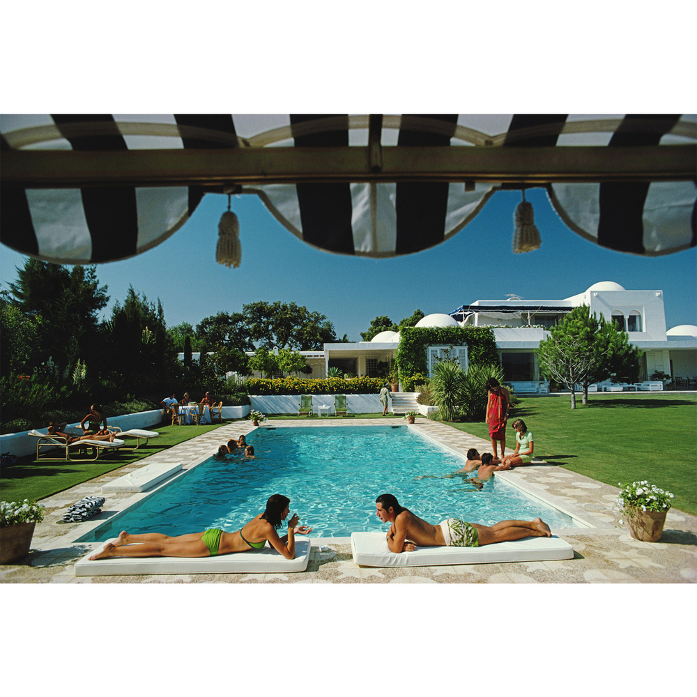 """Poolside in Sotogrande"""
