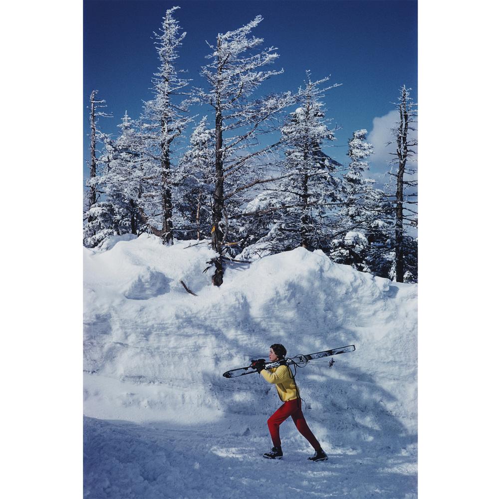 """""""Skier In Vermont"""""""