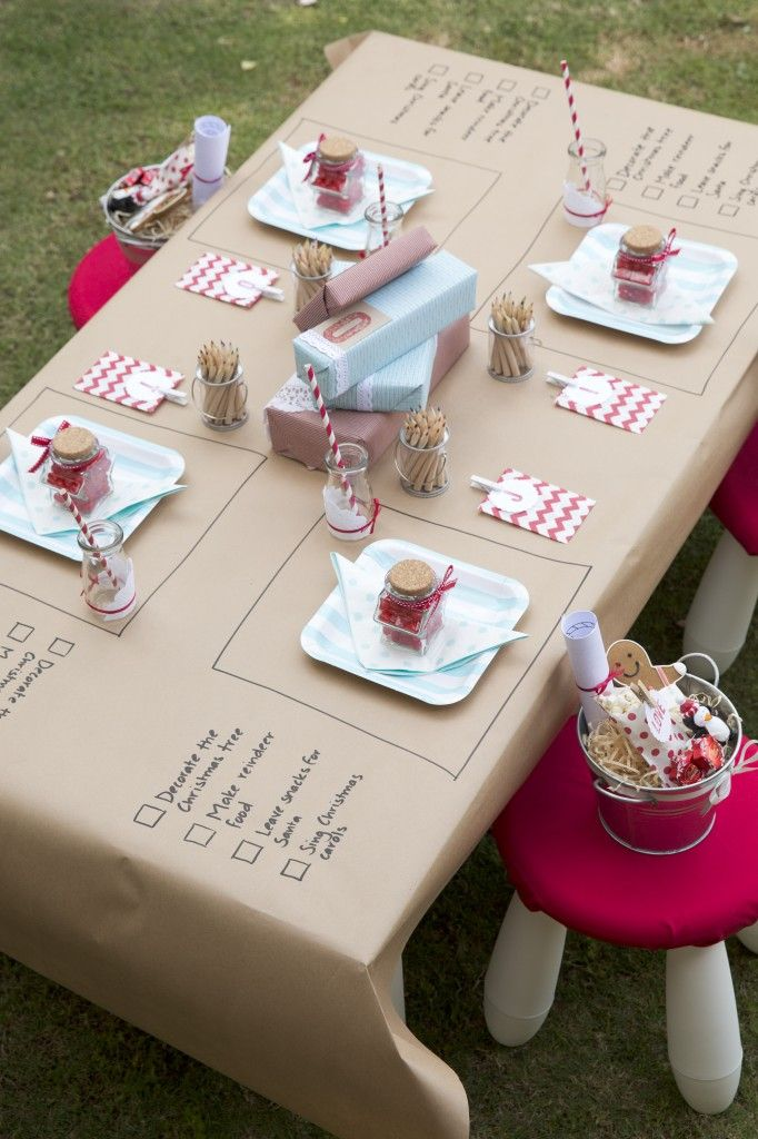 via simplysweetsoirees.com.au - my kids would LOVE this table.
