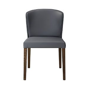 Crate and Barrel - Curran grey Side Chair