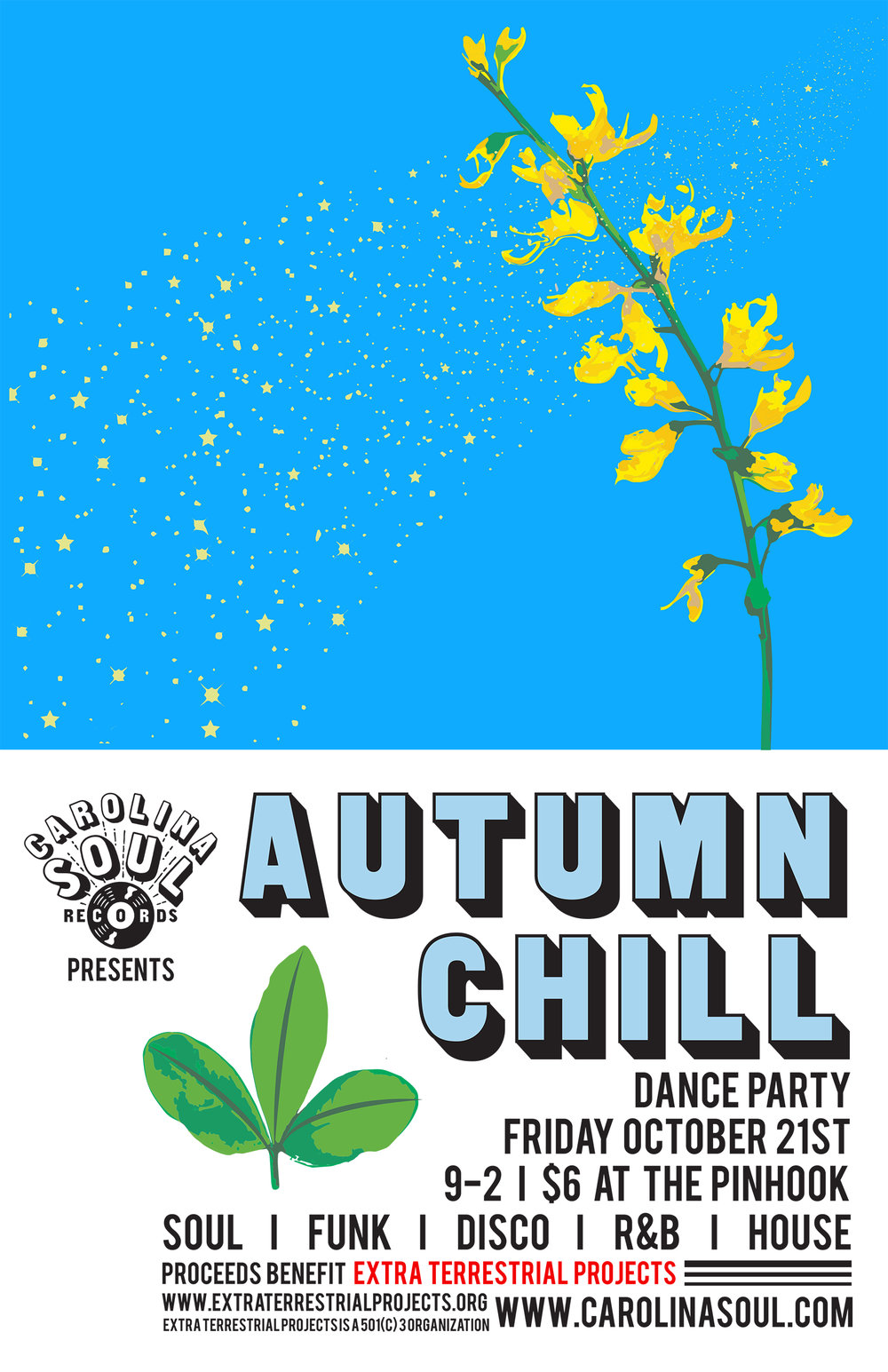 Carolina Soul Autumn Chill 11x17 Poster.jpg
