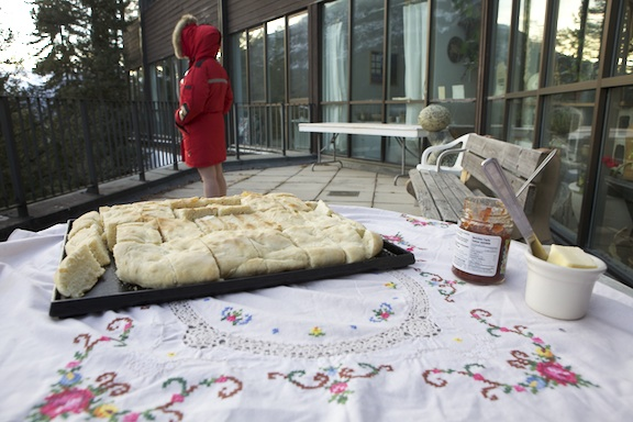 A Woman Having Her Moontime And This Bannock That She Made For You
