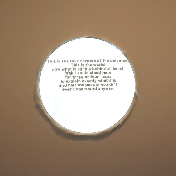 """kayas-âgo: N.  Morrisseau , 36"""" diameter."""