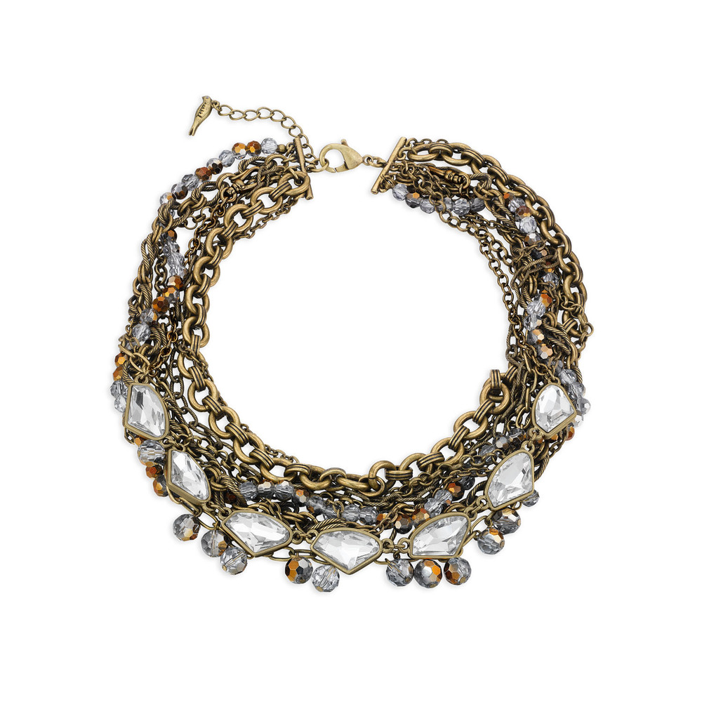 Modern Convertible Torsade Necklace , $148 , N228B
